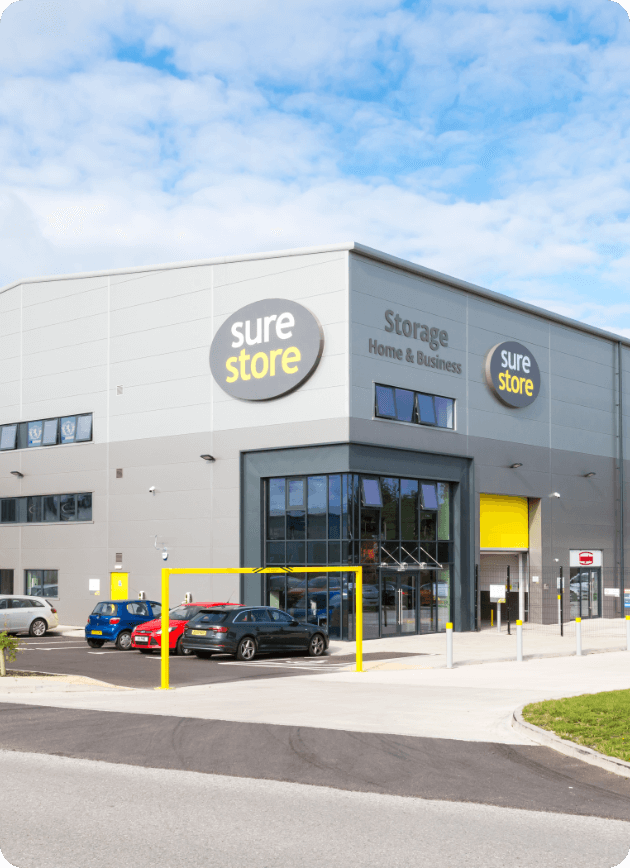 Self storage in Cannock