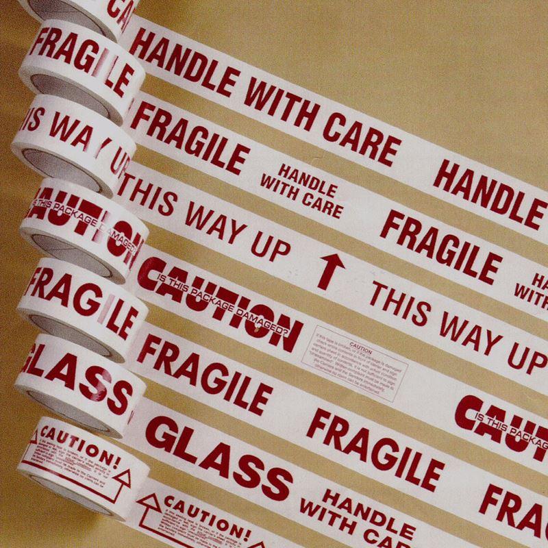 Fragile or Brown Parcel Tape - £2.00