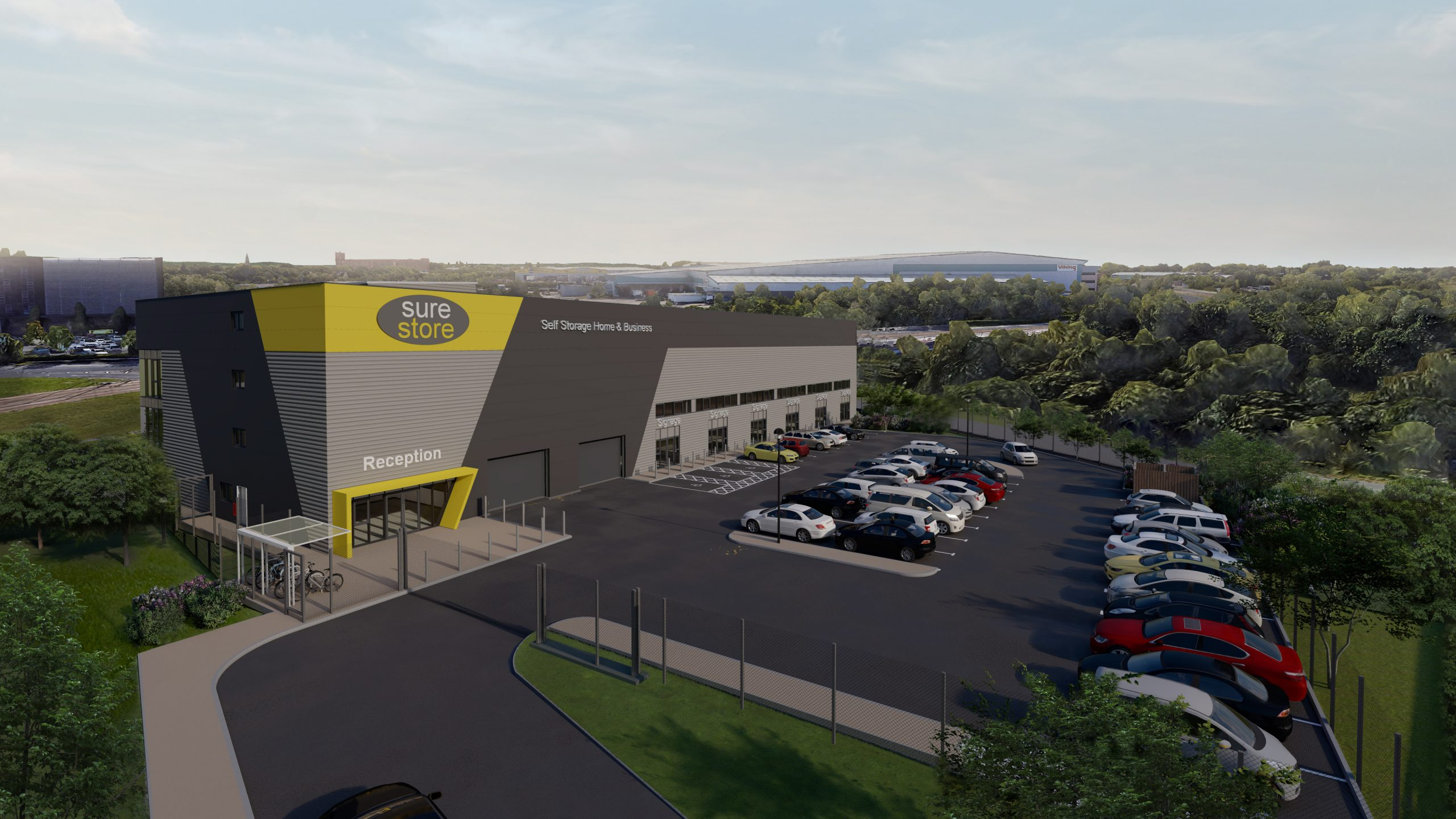 Directions for convenient self-storage in Ashton-under-Lyne