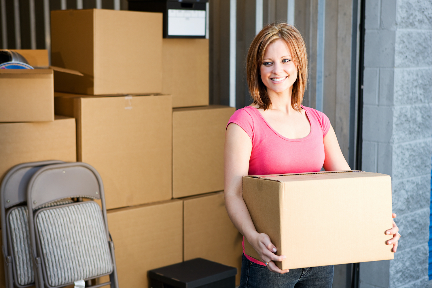 Book the right sized self-storage for you at SureStore