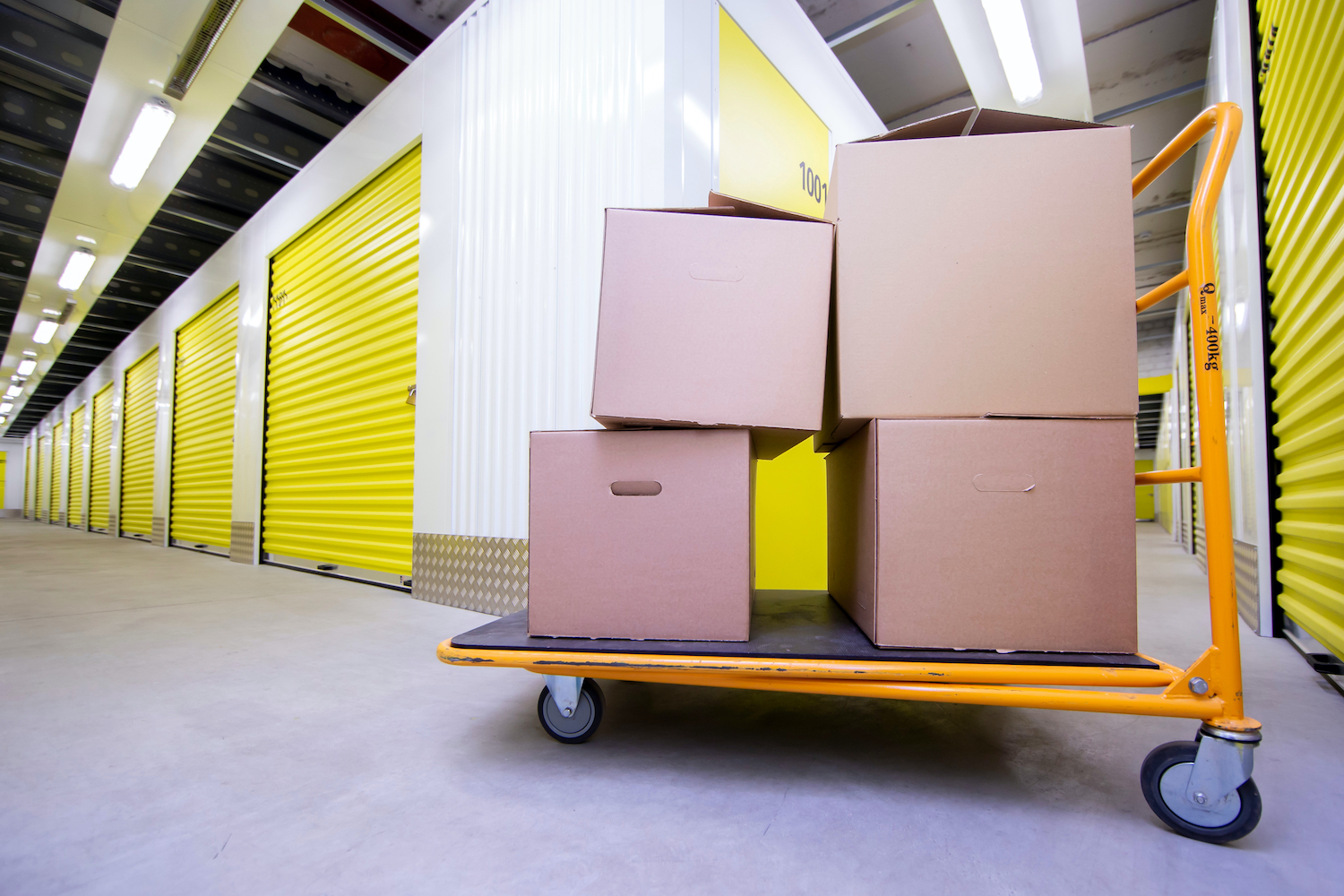 Book a home or business self-storage unit at SureStore Ashton