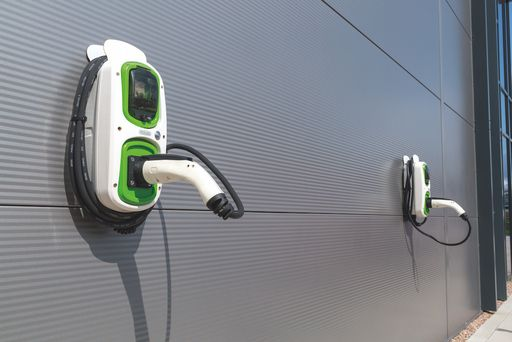 Storage Facility with Electric Car Charging Points
