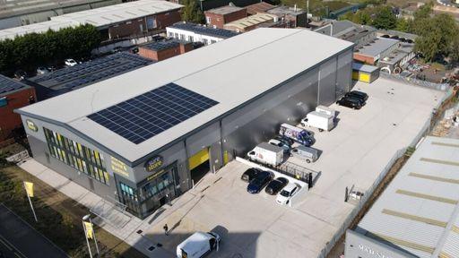 Solar Generated Energy Storage Facility